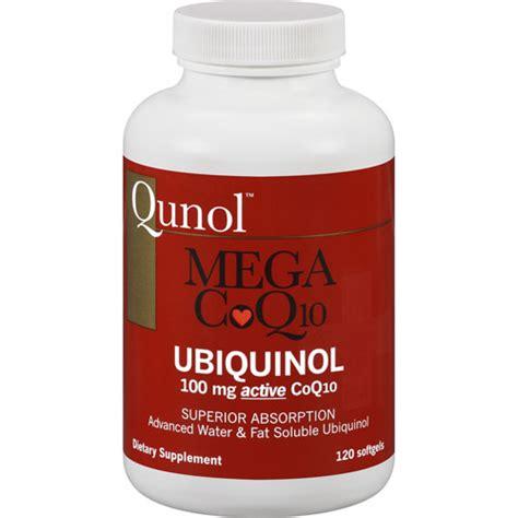 Suplemen Q10 qunol mega coq10 ubiquinol dietary supplement 120 count walmart