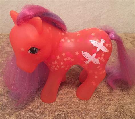 glow in the pony my pony brightglow g1 glow and show pony 1987
