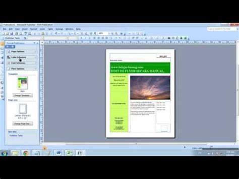 membuat poster dengan microsoft publisher full download cara membuat poster dengan powerpoint