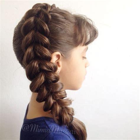 cute hairstyles pull through braid side pull through braid by mimiamassari bella hair