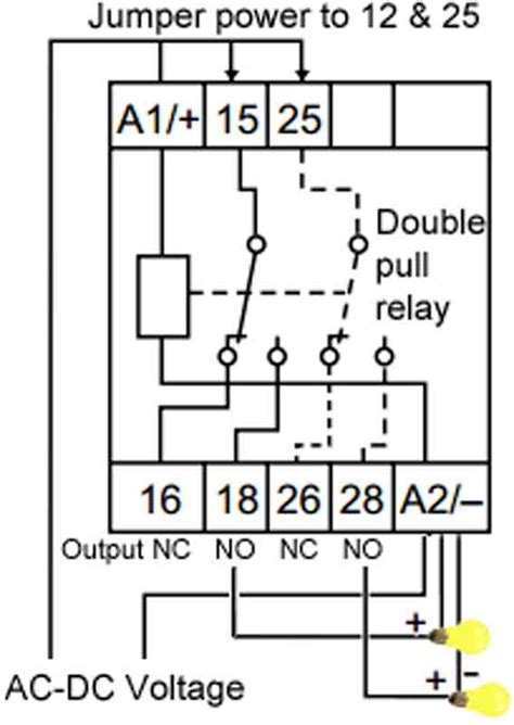 no nc wiring diagram choice image diagram sle and