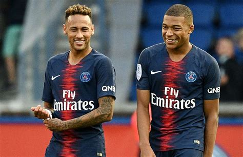 kylian mbappe and neymar how to sign psg s neymar kylian mbappe one year into