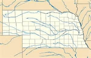 map usa nebraska map nebraska usa