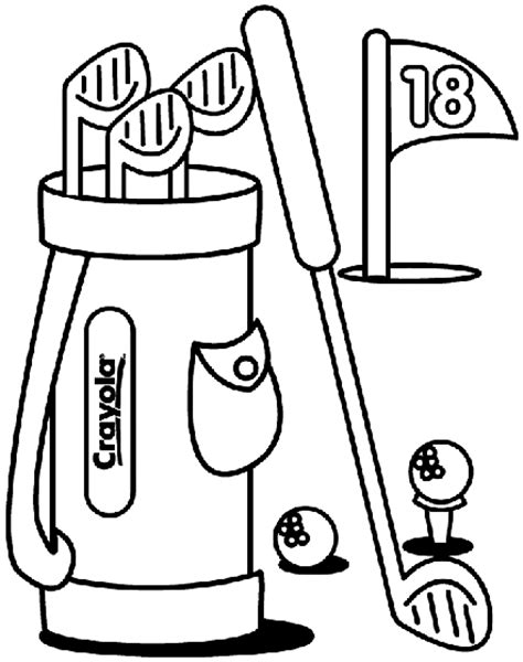 printable golf images golf coloring page crayola com
