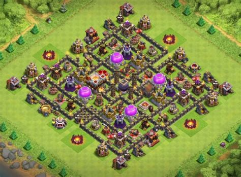 10 best coc town hall th8 farming bases with bomb tower 2016 clash of clans town hall 9 dark elixir farming base cocbases