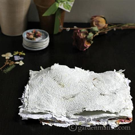 Diy Handmade Paper - diy handmade paper with pressed flowers hearth vine