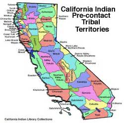 map of california tribes california tribes access map and tribes listing