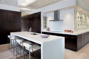 Contemporary Kitchen Island Designs - the new american home 2012 features timberlake cabinetry