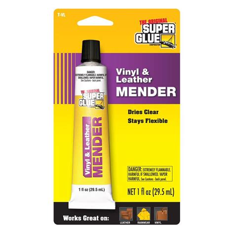 glue 1 fl oz vinyl leather mender 12 pack t vl