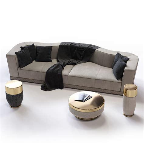 longhi sofa fratelli longhi welles double depth sofa 3d model max obj