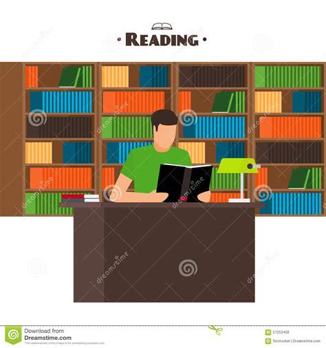 concept picture books reading books concept stock vector image 57253458
