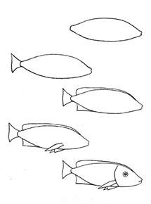 How To Draw Fish How To Draw Fish Aquarium Step By Step Cbru