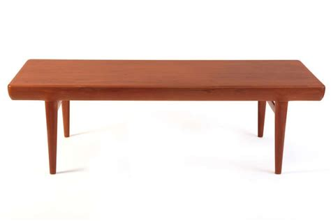 Cocktail Table With Drawers by Johannes Andersen Teak Cocktail Table With Drawers At 1stdibs