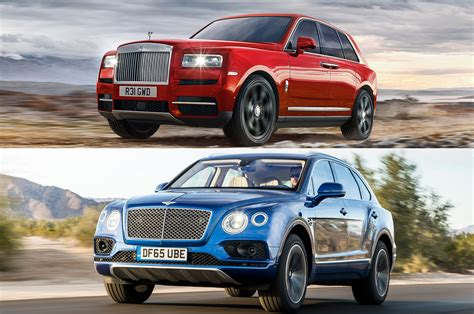Refreshing Or Revolting Rolls Royce Cullinan Vs Bentley
