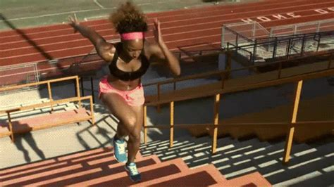 Run Stairs To Build Strength And Endurance by Endurance Climb It Parkour Wod
