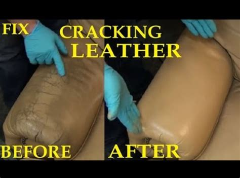 repair peeling vinyl couch before and after picture fix cracked leather leather