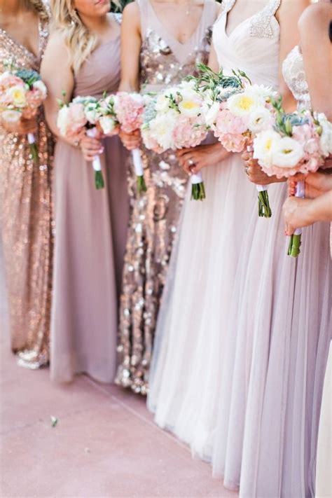 17 Best ideas about Mix Match Bridesmaids on Pinterest