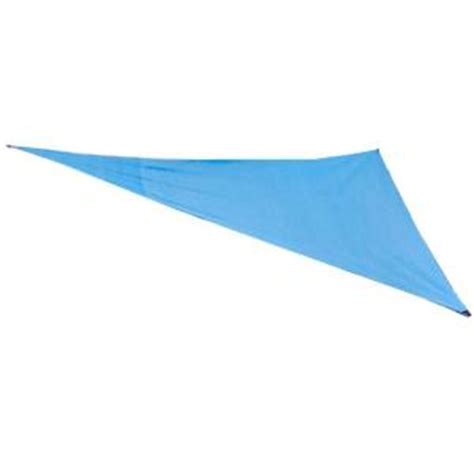 king canopy 10 ft w x 10 ft d blue triangle sun shade