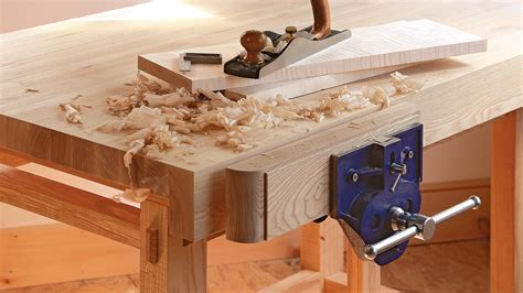sturdy bench assembling the small sturdy workbench finewoodworking