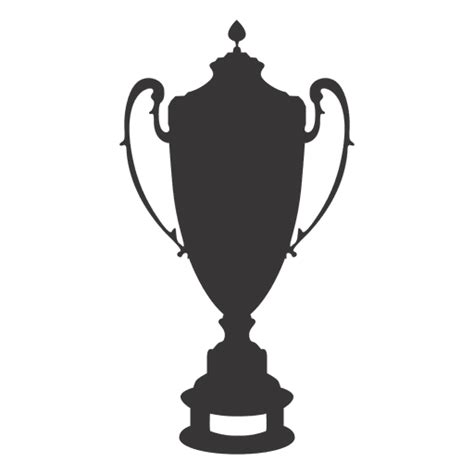cup silhouette png trophy cup silhouette 3 transparent png svg vector
