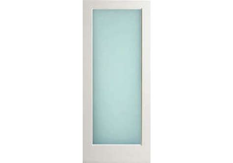 square glass door wp1llami interior 1 lite white primed with dual white