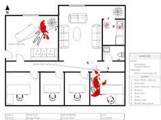 8 Best Crime Scene Sketch Images Crime Sketch Template