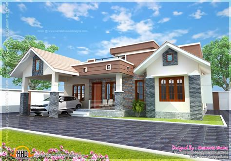 small single floor house plans small single floor house with floor plan kerala home