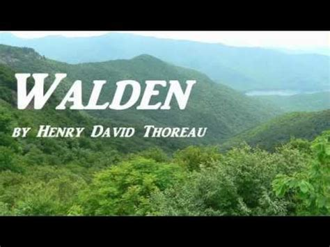 walden book quotes walden by henry david thoreau audiobook part 1