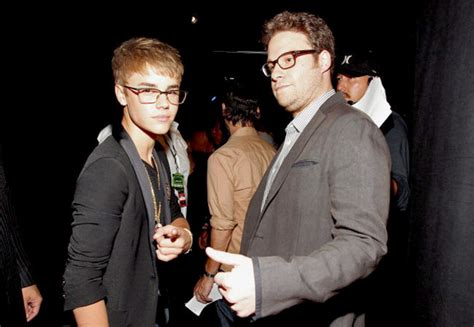 Is Begging Justin Timberlake To Visit by Justin Bieber Is Begging Seth Rogen To Join His Comedy