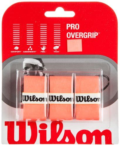 Wilson Grip Pro Isi 3 Orange sports racquet grips find offers and compare