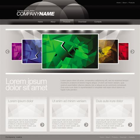 free 3d website templates best photos of free 3d web design templates website