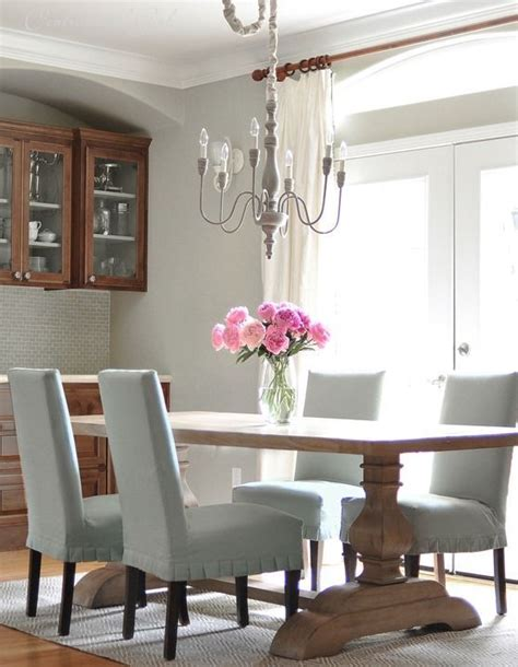Slipcovered Dining Room Chairs Slipcovers Dining Rooms And Dining Room Chairs On