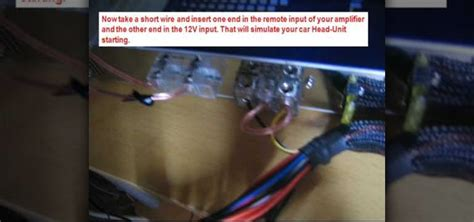 how to wire my house rem amp on a wire wiring diagram schemes
