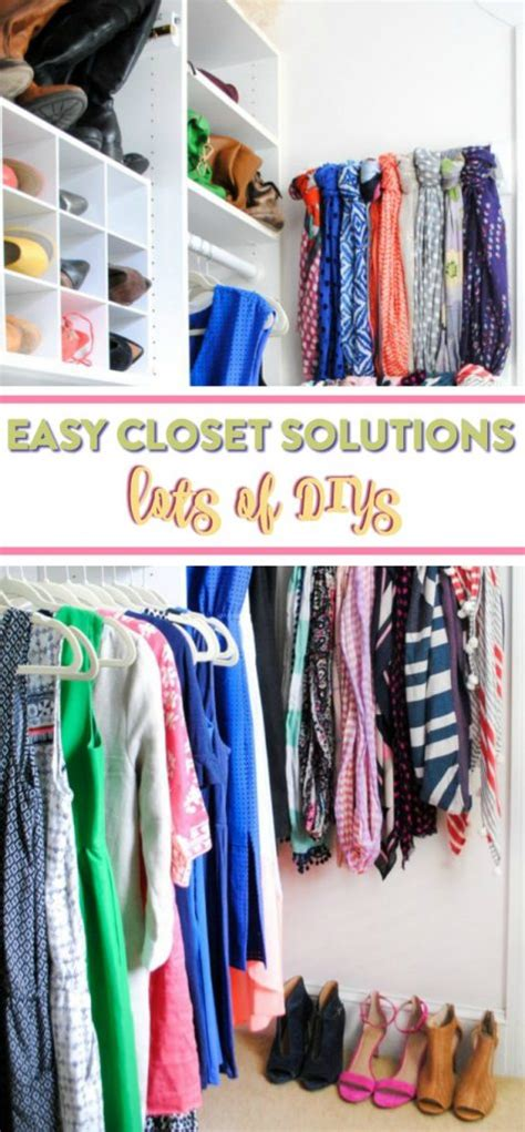 Easy Closet Solutions by Easy Diy Closet Solutions A Craft In Your Day