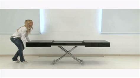 table basse convertible but table basse relevable box la maison du convertible
