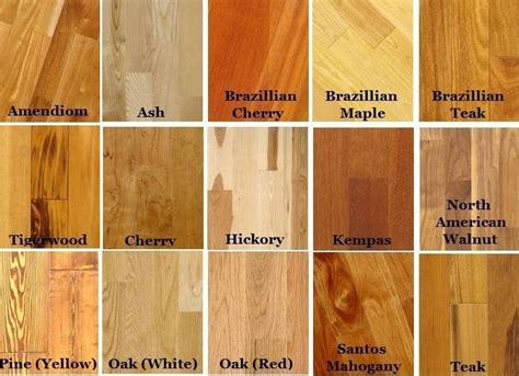 Wood Types For Furniture by Beautiful Woods Furniture 8 Different Types Wood