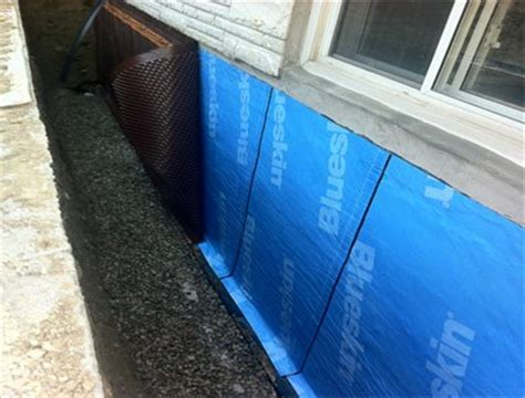 water proofing a basement exterior basement waterproofing and how it is done