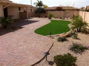 Arizona Backyard Landscape Ideas Professional Landscape Installations Gilbert By Summit Groundworks Arizona Outdoors