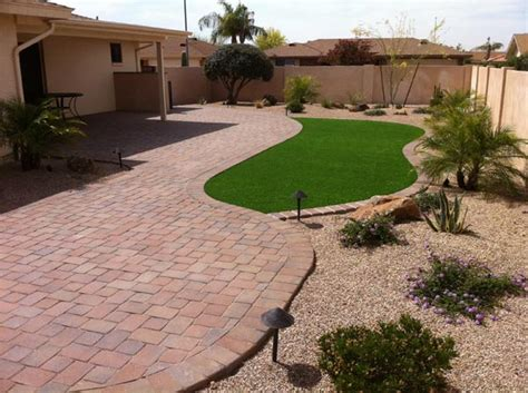 Backyard Landscaping Arizona by Professional Landscape Installations Gilbert By Summit