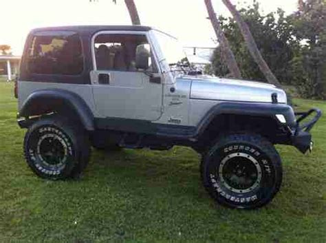 2000 Jeep Lifted Find Used 2000 Jeep Wrangler Sport Utility 2 Door 4 0l