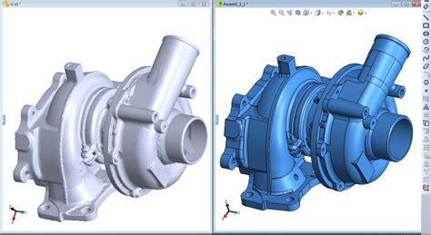 3d pattern makers engineering ltd turbo charger reverse engineer 3d scan to stl model bms
