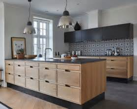 Scandinavian Kitchen Cabinets Scandinavian Kitchen Design Ideas Renovations Photos With Concrete Floors