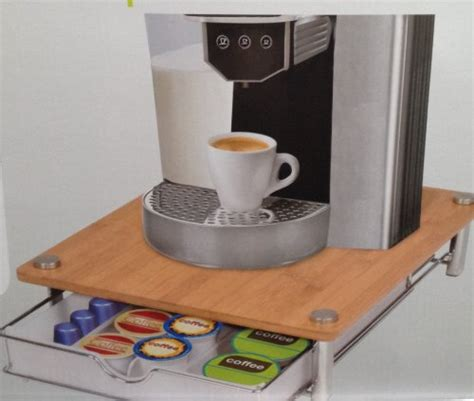 Coffee Storage Drawer by Smartworks Coffee Pod Capsule Storage Drawer Nespresso Uk