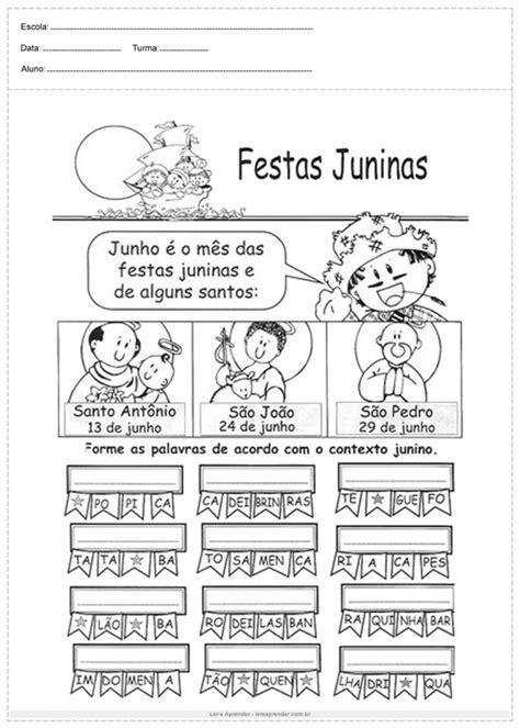 Atividades para Festa Junina para o 3º ano - Ler e Aprender