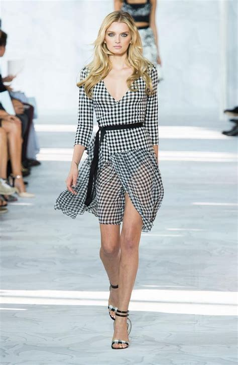 gingham print clothing as a summer fashion trend