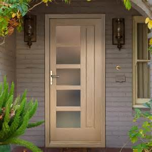 Oak Exterior Doors Lucca Oak Exterior Door With Obscure Glazing
