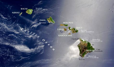 maps of hawaii reference maps of hawaii usa nations project