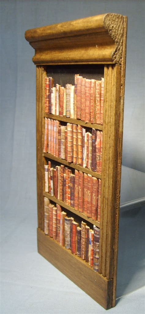 False Bookshelf false bookcase ber the miniature