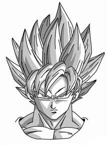 z drawing how to draw goku saiyan from z mangajam