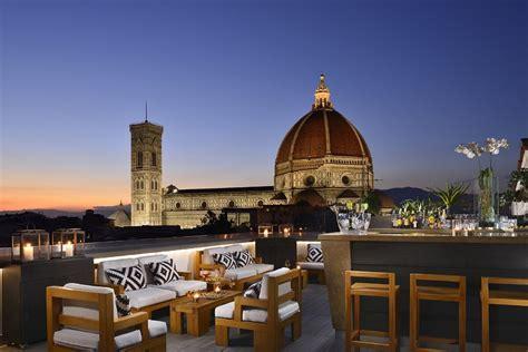a firenze in terrazza hotel con terrazza monumenti d italia panorama mozzafiato